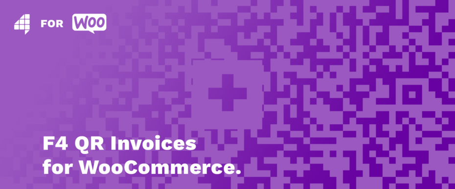 F4 QR Invoices for WooCommerce Cover