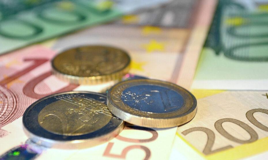 Euro Münzen und Noten